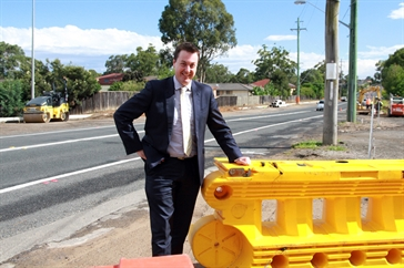 Mayor Andrew Jefferies - Samantha Riley Drive Upgrade