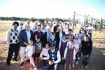 Mayor Byrne pictured with Clr De Masi, Clr Jethi, Clr Russo and residents at the Arnold Avenue Reseve Playground.JPG