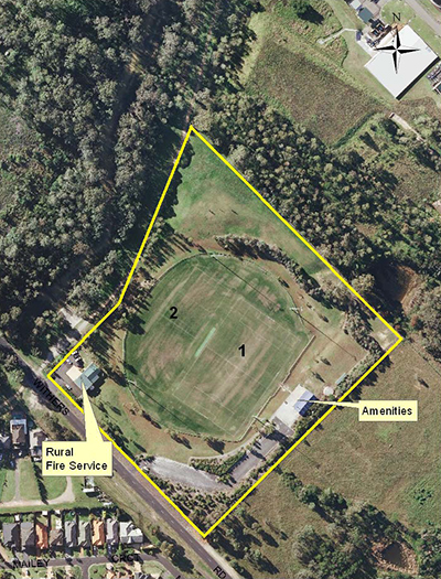 Russell Reserve Features Two Soccer Fields For The Winter Season And One Cricket Field For The Summer Season The Cricket Pitch Is Not Covered